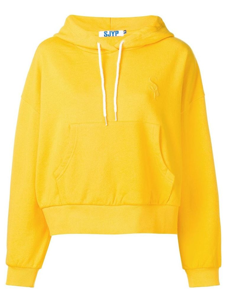 SJYP cropped hoodie - Yellow