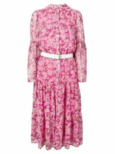 Michael Michael Kors floral flared dress - Pink