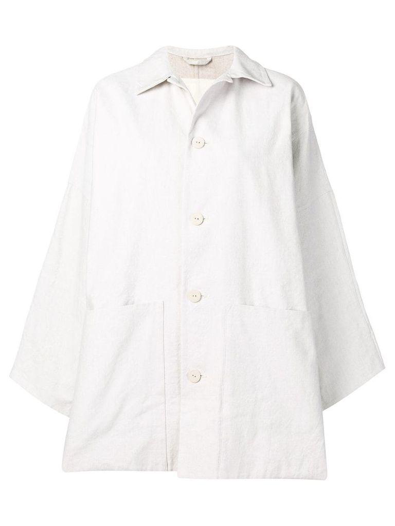 Toogood mid-length coat - White