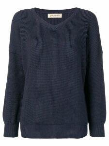 Gentry Portofino V-neck jumper - Blue