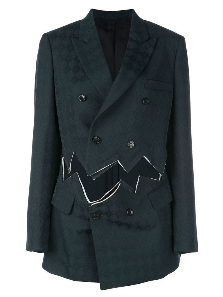 Comme Des Garçons double breasted blazer - Black