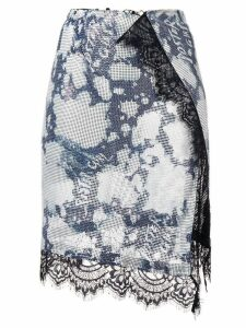 Poster Girl Brandy wrap skirt - Blue