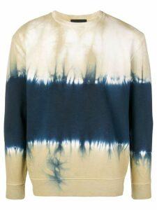 Diesel Black Gold boxy tie-dye sweatshirt - Neutrals