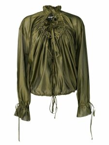 Dsquared2 ruched shirt - Green