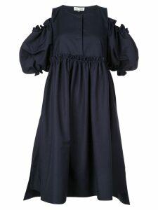 Dice Kayek flared midi dress - Blue