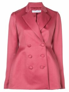 Marina Moscone double breasted blazer - Pink