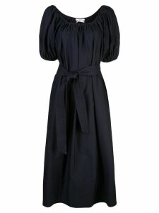 Co belted midi dress - Blue