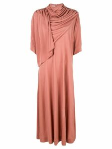Co draped neck dress - Pink