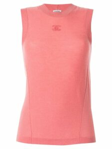 Chanel Pre-Owned sleeveless top - Pink