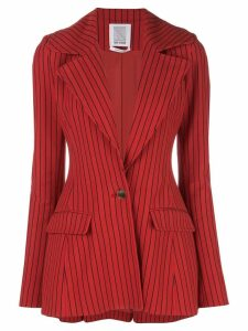 Rosie Assoulin fitted striped blazer - Red