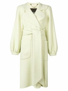 Marc Jacobs belted midi coat - Green