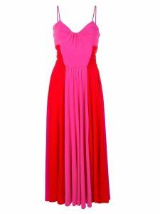 MSGM two tone midi dress - Pink