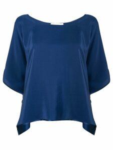 Jean Paul Knott loose fit blouse - Blue