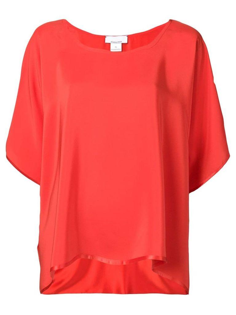 Jean Paul Knott loose fit blouse - Red
