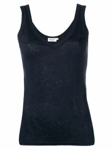Filippa-K v-neck tank top - Blue