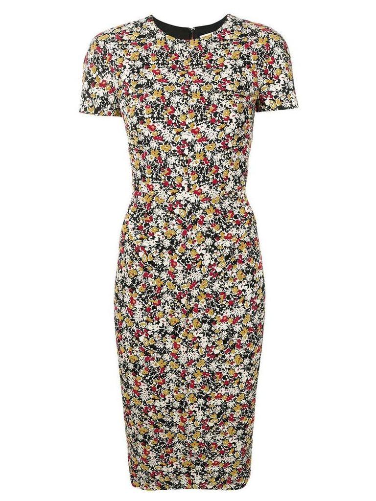 Victoria Beckham fitted midi dress - Neutrals