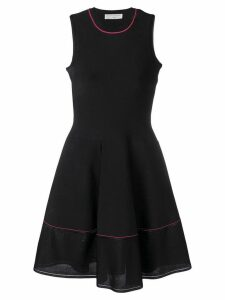 Victoria Beckham A-line pleated dress - Black