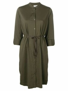 Filippa-K Seer Sucker shirt dress - Green