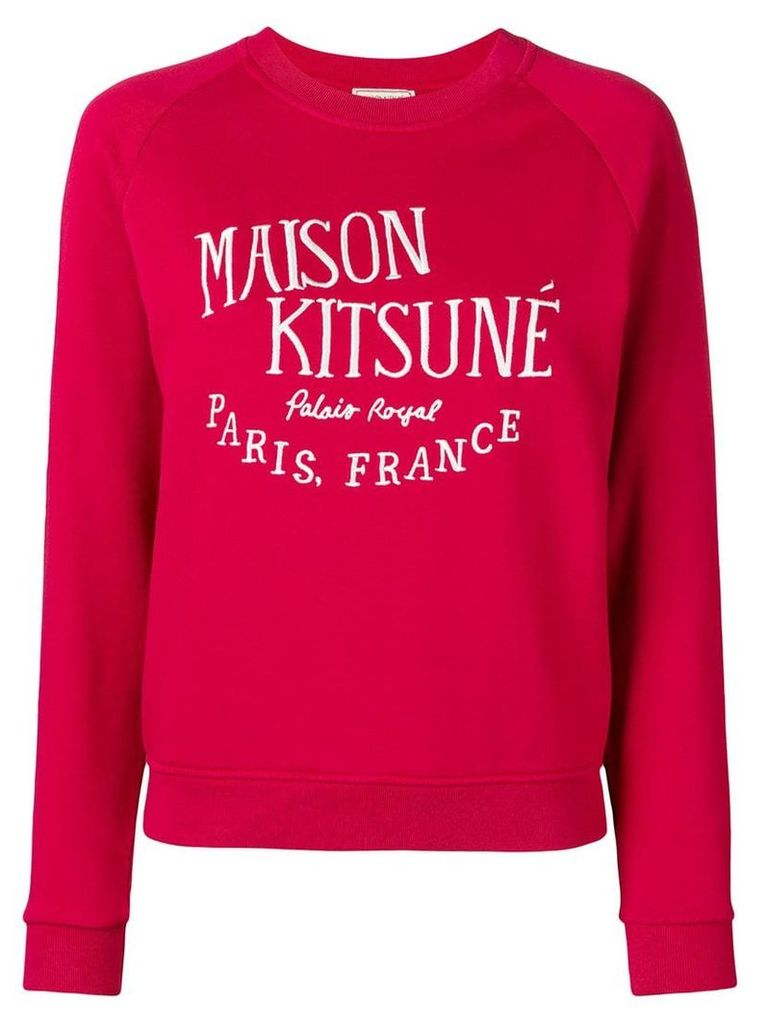 Maison Kitsuné Palais Royal sweatshirt - Red
