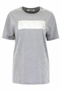 Valentino T-shirt With Laminated Logo