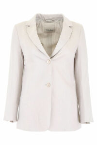 S Max Mara Here is The Cube Cotton Blazer
