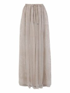 Brunello Cucinelli Embroidered Skirt