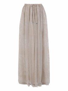 Brunello Cucinelli Embroidered Skirt