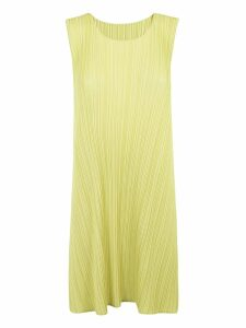 Pleats Please Issey Miyake Sleeveless Dress