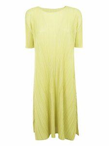 Pleats Please Issey Miyake Pleated Dress