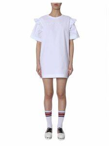 Philosophy di Lorenzo Serafini Cotton-poplin Dress