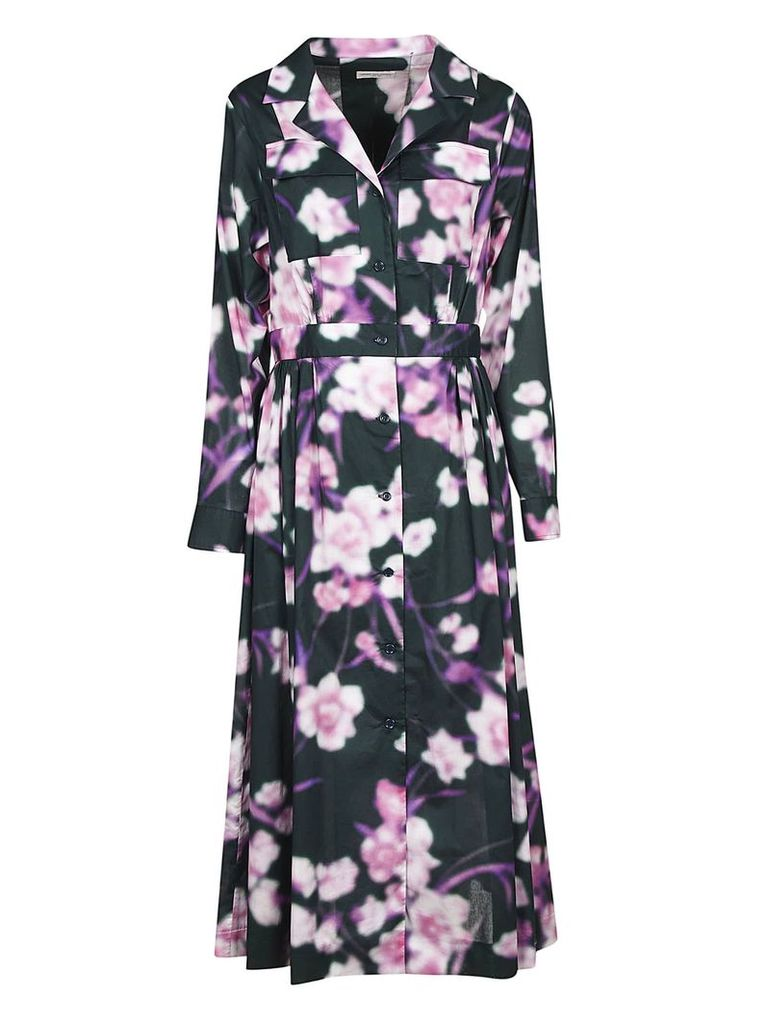Dries Van Noten Floral Printed Dress
