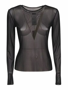 MM6 Maison Margiela Longsleeved Sheer Jumper