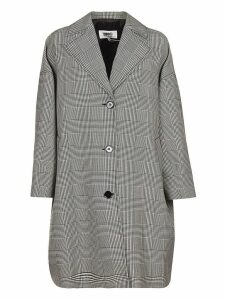 MM6 Maison Margiela Oversized Houndstooth Coat
