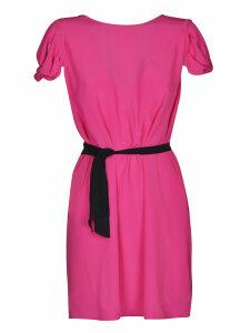 N.21 Draped Cap-sleeved Dress