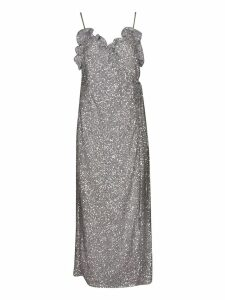 The Attico Long Glittery Dress