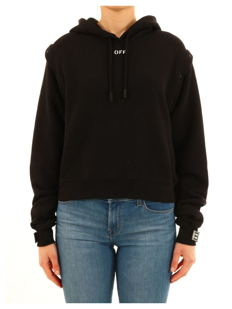 Off-White Sweatshirt Removable Sleeves