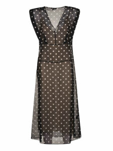 Polka Dot Casual Dress