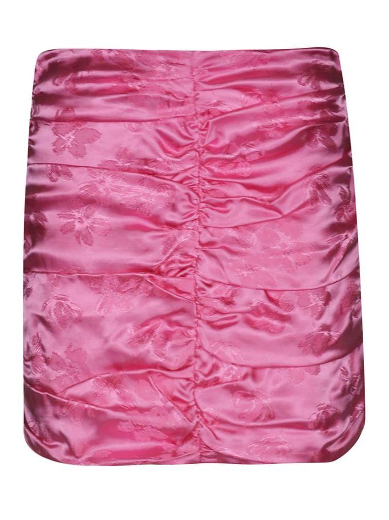 Attico Ruffled Short Skirt