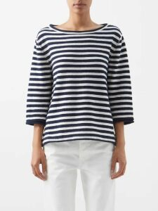Belize - Elvira Buttoned Linen Midi Skirt - Womens - Red