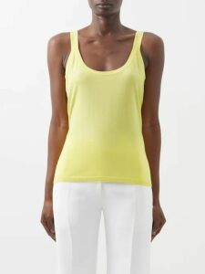 Emilia Wickstead - Yves Lacquered Cotton Trench Coat - Womens - Pink