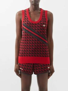 Emilia Wickstead - Kiki King Wave Wrap Crepe Midi Dress - Womens - Beige Multi