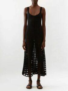 Alexandre Vauthier - Microcrystal Open Back Mini Dress - Womens - Brown