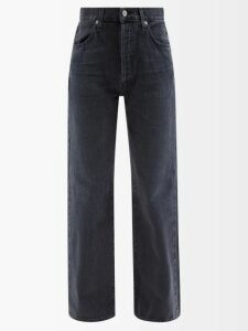 Marine Serre - Patchwork One Shoulder Cotton Jersey Dress - Womens - Pink