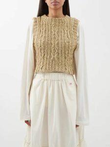 Noki - Customised Street Couture Hooded Sweatshirt - Womens - Multi