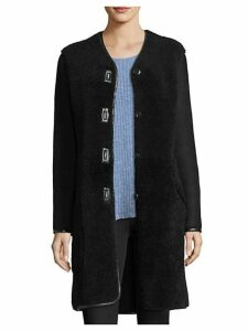 Blythe Suede & Shearling Coat