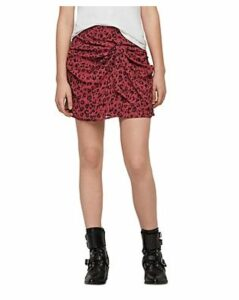 Allsaints Rylie Roar Twist-Front Skirt