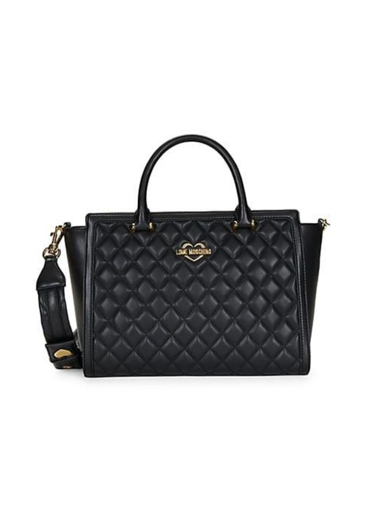 Diamond Quilted Tote Bag