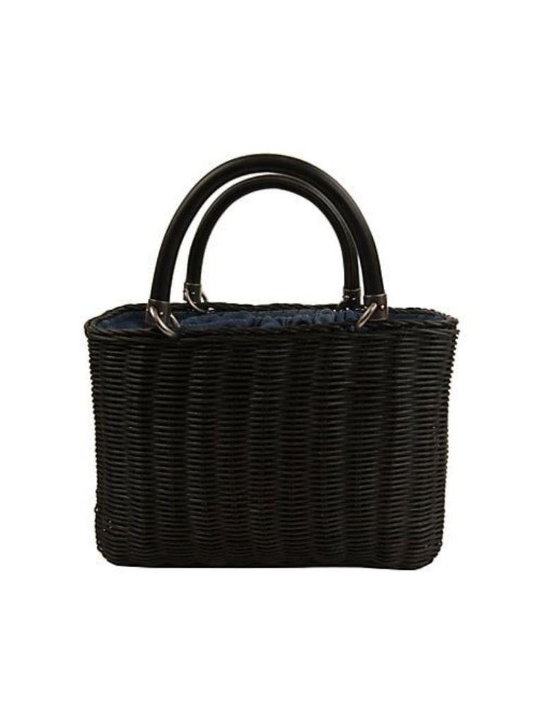 Lucy Mini Straw Basket Handbag