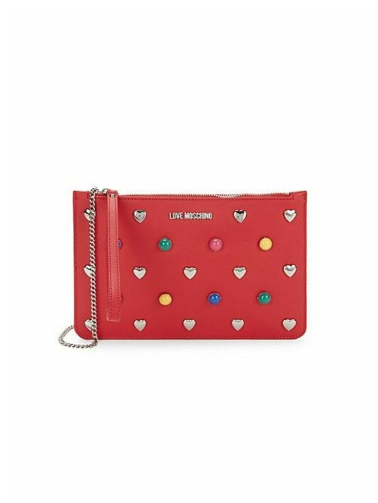 Mixed Stud Zip Pouch
