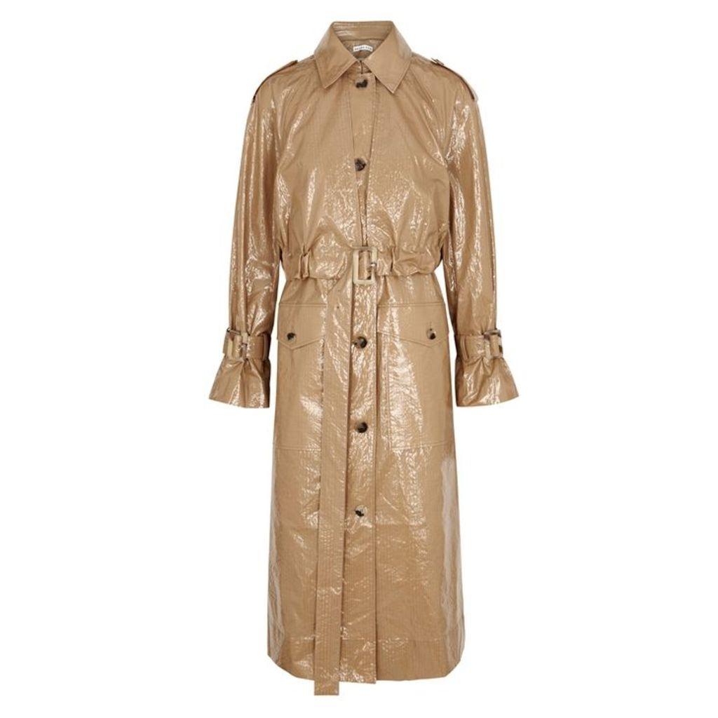 Rejina Pyo Wren Coated Cotton Trench Coat